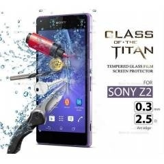 Xperia Z L36H Tempered Glass Çizilmez Cam Ekran Koruyucu -Screen Guard